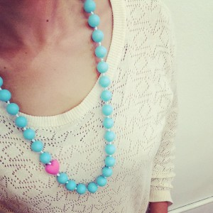 Collar Maternidad Color Mama