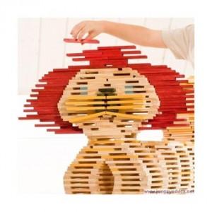 kapla-40-piezas-rojas-mas