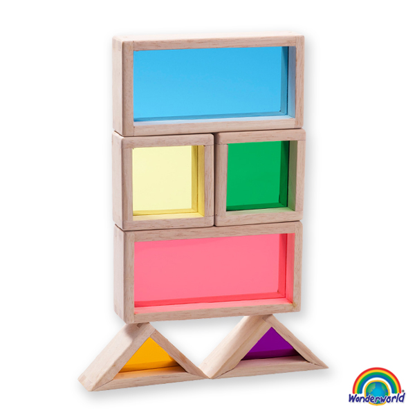 Imagen de Rainbow Blocks - Bloques translúcidos