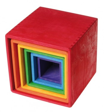 Imagen de Cubos apilables madera Grimm's