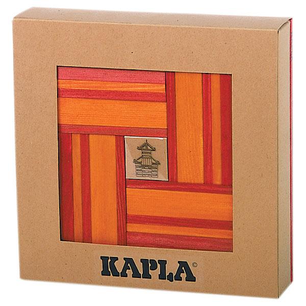 Imagen de Kapla 40 piezas bicolor + Libro