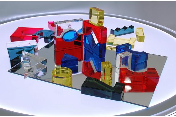 Imagen de Bloques acrílicos translúcidos con espejo