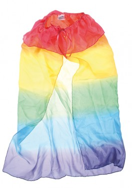Imagen de Capa de seda rainbow