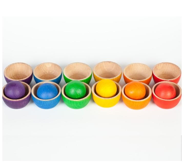 Imagen de Cuencos con bolas - Grapat