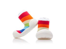 Imagen de Attipas rainbow blanco