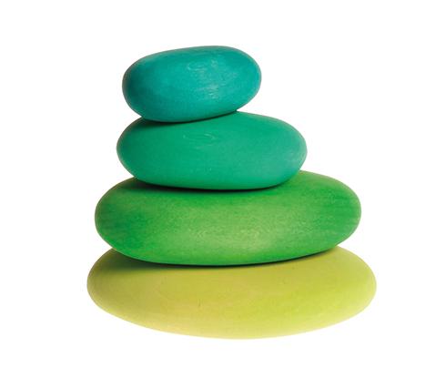 Img Galeria Set piedras Pebbles hierba
