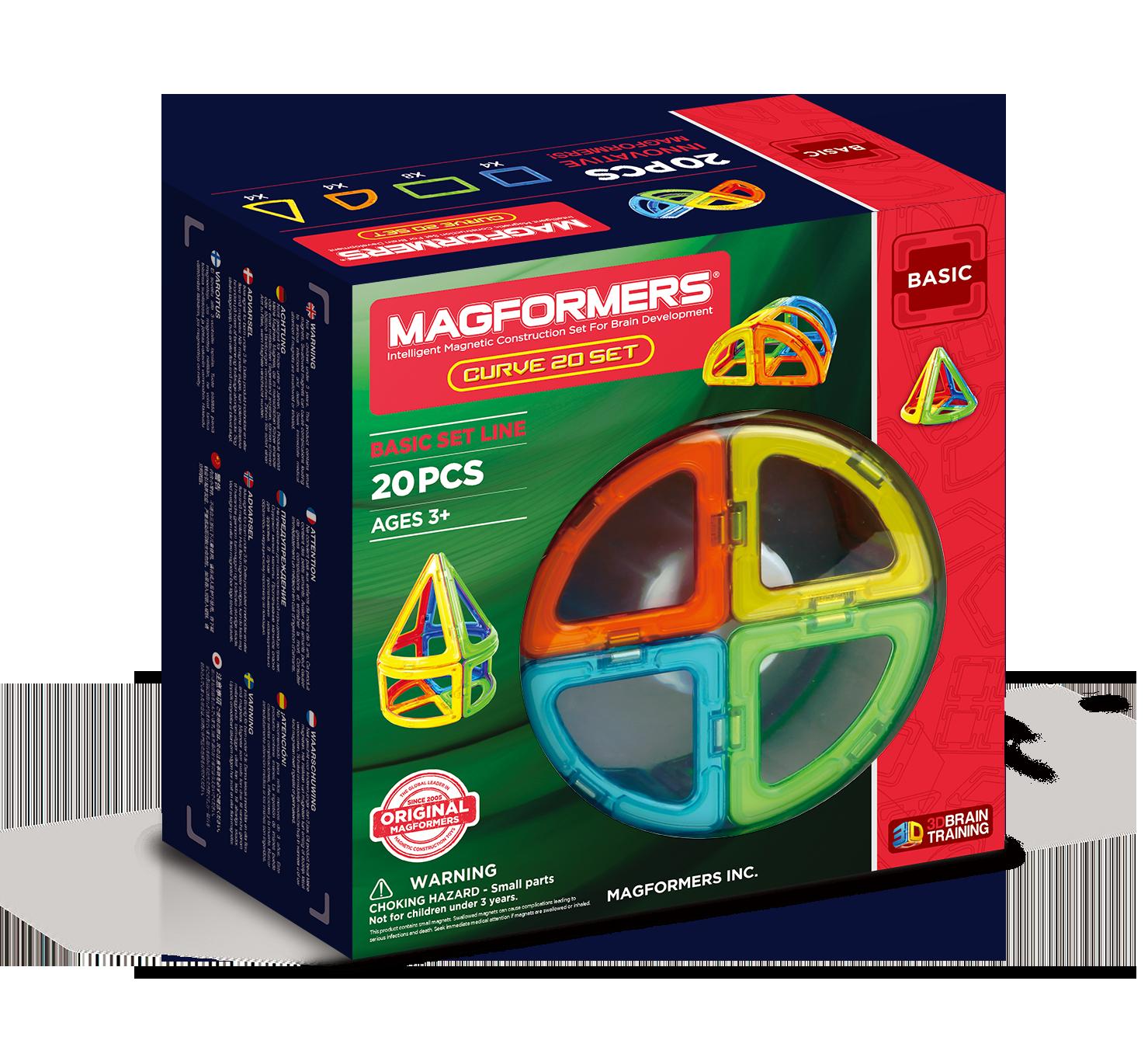 Imagen de Magformers Juego Curve 20pcs