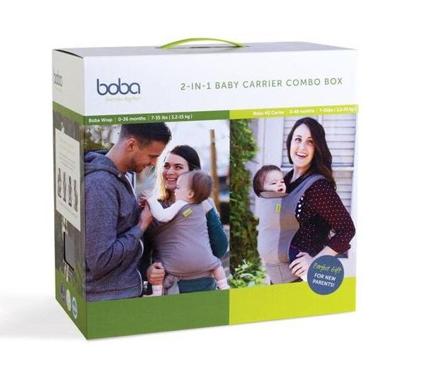 Img Galeria Boba Carrier 2 Combo Box Gray + Dusk