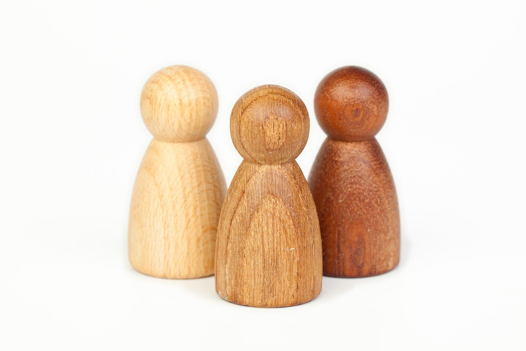 Imagen de 3 nins® de madera Grapat