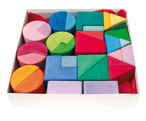 Imagen de Triángulo, cuadrado, círculo Grimm's