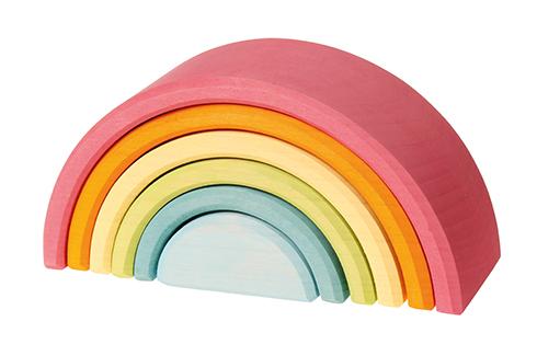 Imagen de Arco iris mediano pastel Grimm's