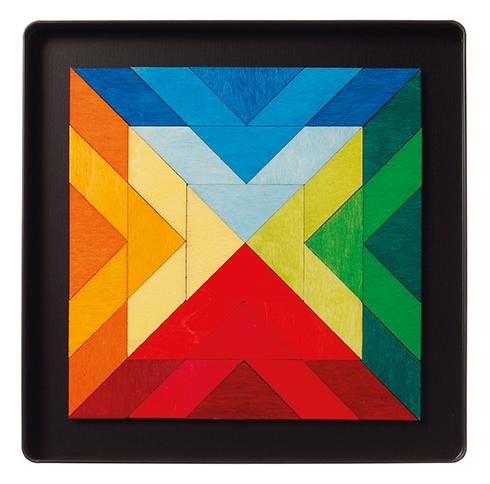Imagen de Puzzle magnético cuadrado indio Grimm's