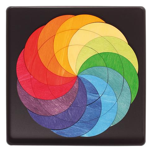 Imagen de Puzzle magnético rainbow wheel Grimm's