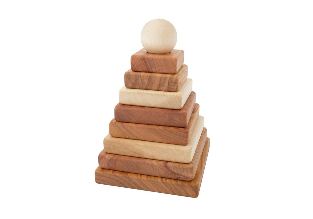 Imagen de Pirámide natural Wooden Story