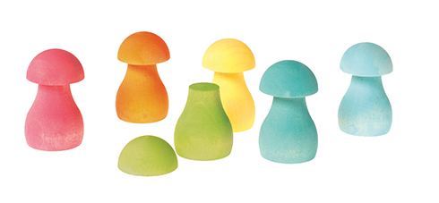 Img Galeria Juego de clasificación Pastel Mushrooms Grimm's