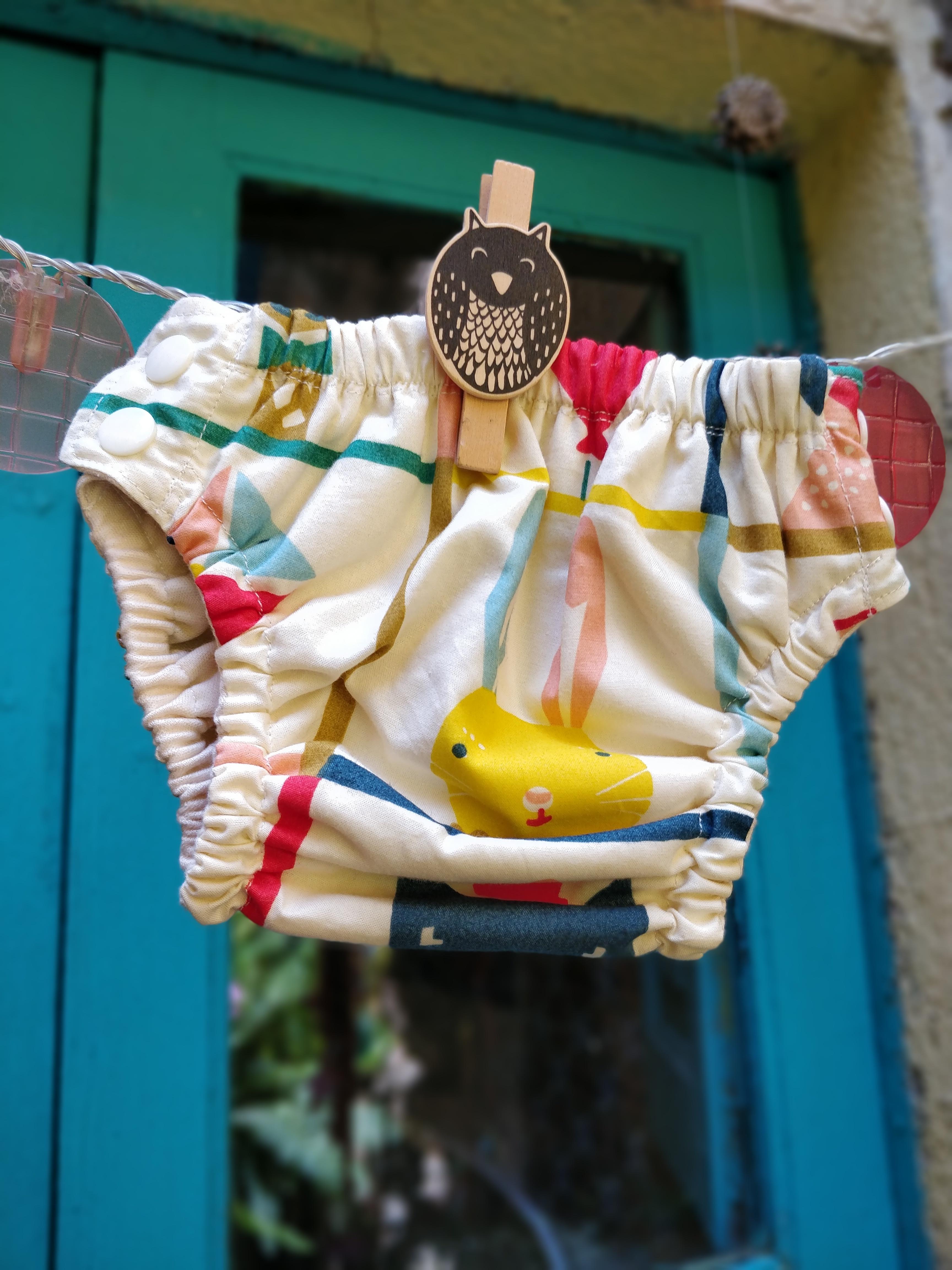 Imagen de Bañador pañal conejo