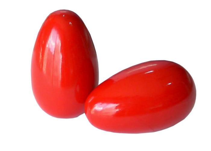 Imagen de Huevos maraca de madera
