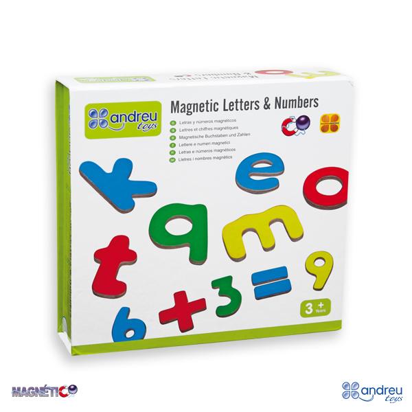 Imagen de Letras y números magnéticos