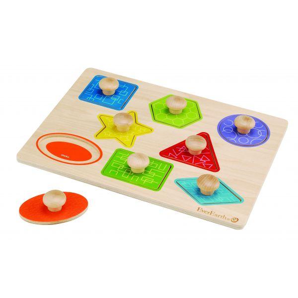 Imagen de Puzzle de formas geométricas