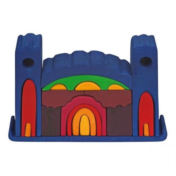 Imagen de Castillo de madera Todo en Uno