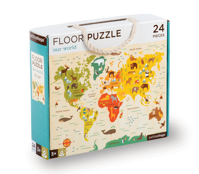 Imagen de Puzzle Gigante Mapa Mundi