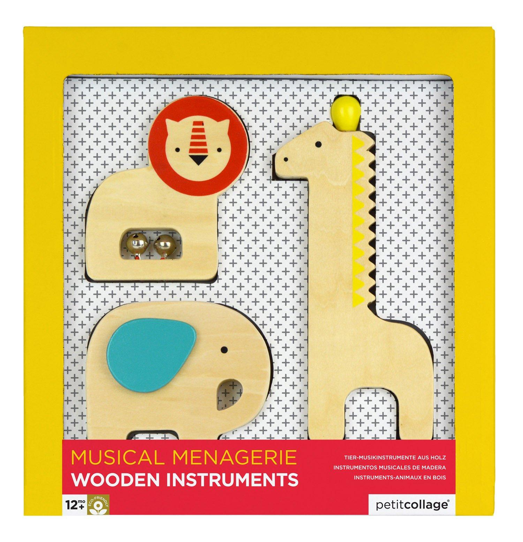 Imagen de Instrumentos musicales de animales de madera