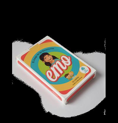 Imagen de El juego de cartas EMO de MUTKIDS