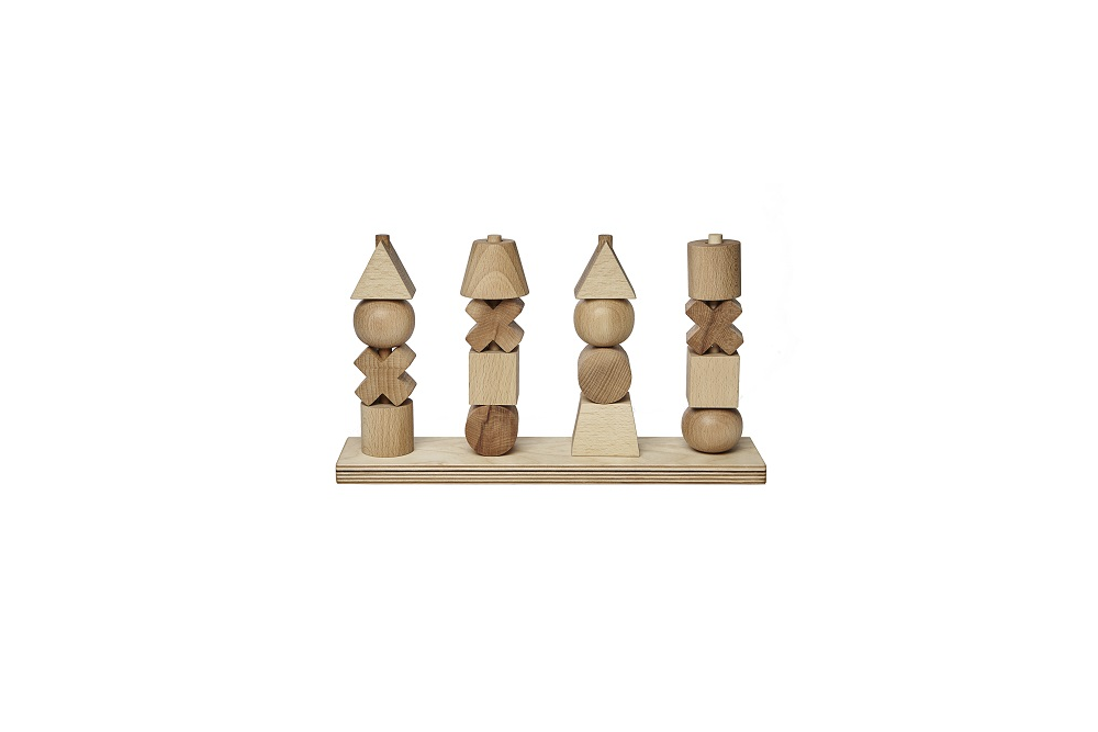 Imagen de Natural Stacking Toy XL WOODEN STORY