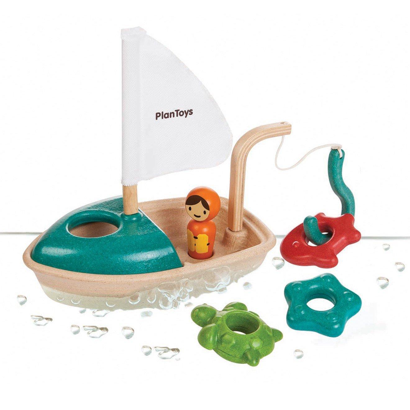 Imagen de Barco de pesca Plan Toys