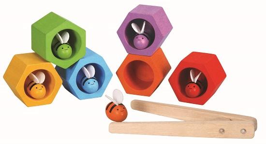 Imagen de Abejas en la colmena Plan Toys