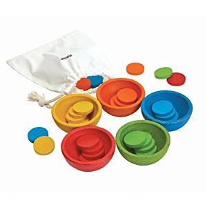 Imagen de Tazas ordena y cuanta Plan Toys