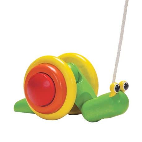 Imagen de Arrastre caracol Plan Toys
