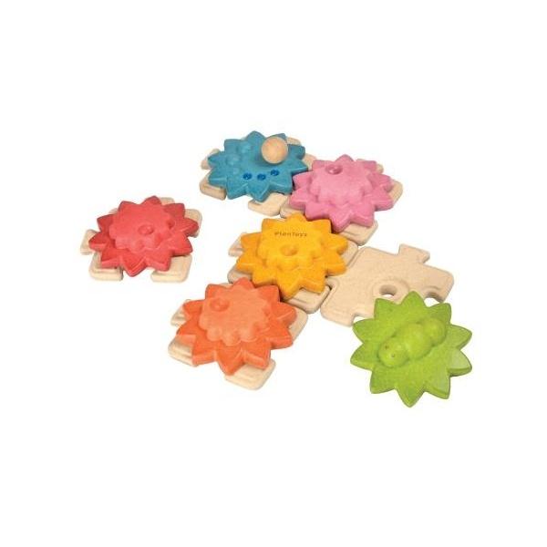 Img Galeria Puzzle de engranajes Plan Toys