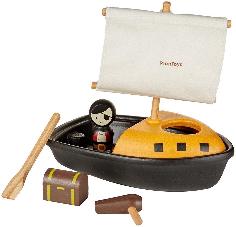 Imagen de Barco pirata Plan Toys