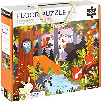 Imagen de Puzzle bosque encantado de Petit Collage