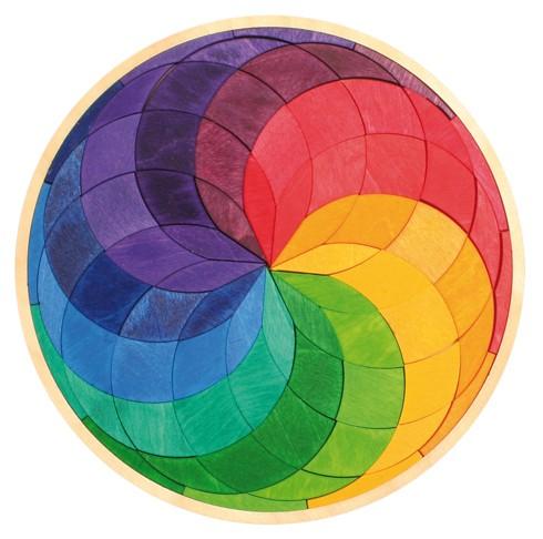 Imagen de Puzzle Mandala Espiral