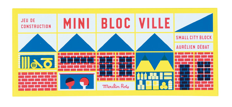 Imagen de Mini Bloc Ville de Moulin Roty