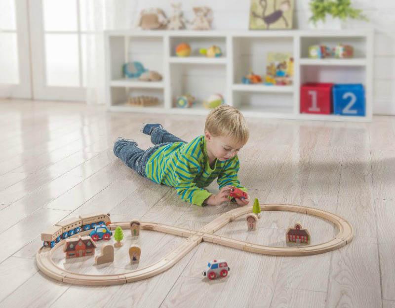 Imagen de Tren de madera