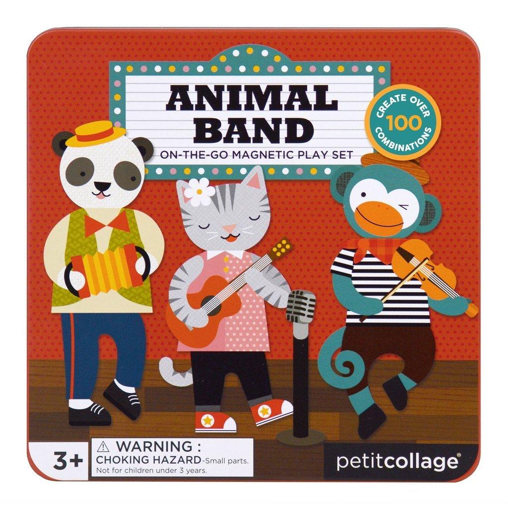 Imagen de Juego Magnético para llevar contigo Animal Band