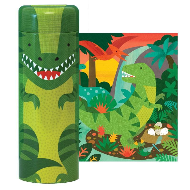 Imagen de Puzzle en Lata Dinosaurio