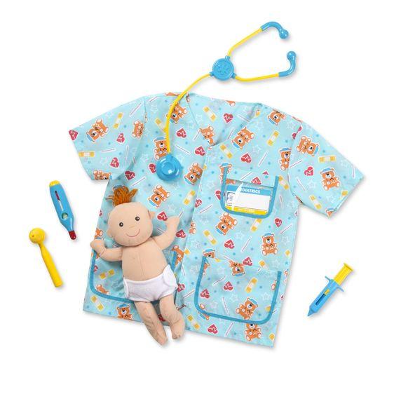 Imagen de Disfraz de pediatra
