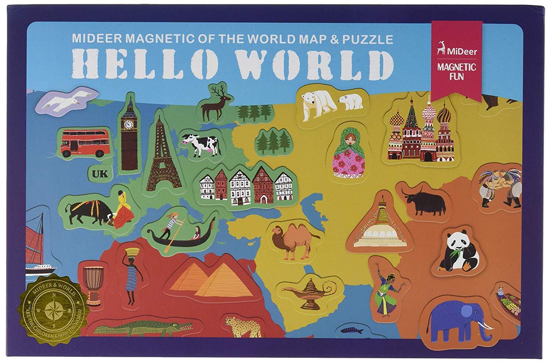 Imagen de Mapa Magnético del Mundo