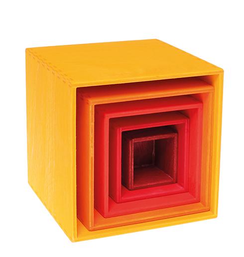 Imagen de Set de cajas amarillas