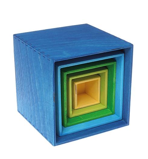 Img Galeria Set de cajas azules