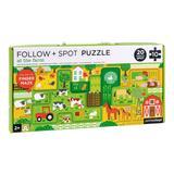 Imagen de Puzzle En la Granja (sigue y observa) Petit Collage