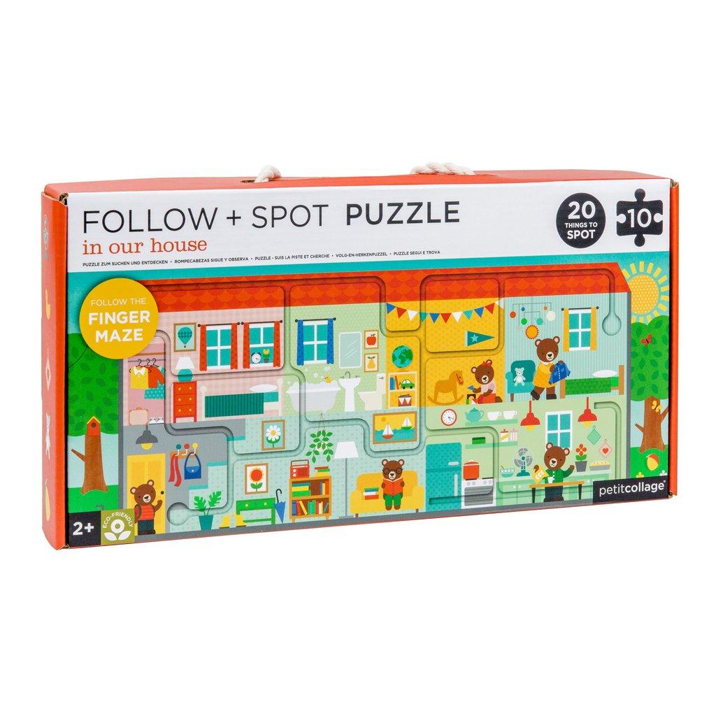 Imagen de Puzzle En nuestra casa (sigue y observa) Petit Collage