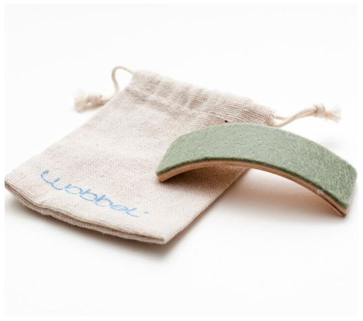 Imagen de Mini Wobbel con bolsa de lino