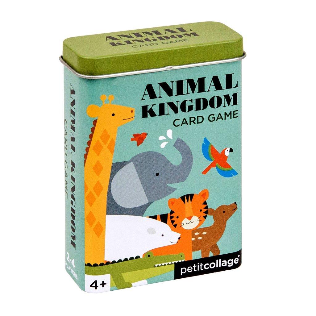 "Imagen de Juego de cartas en lata ""Reino Animal"" Petit Collage"
