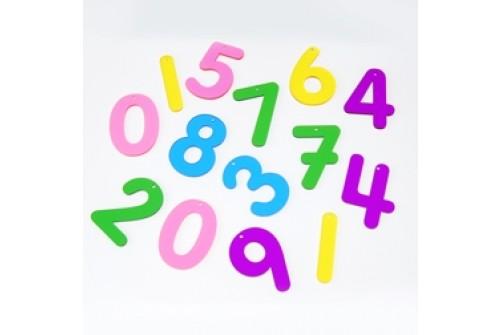 Imagen de Números translúcidos