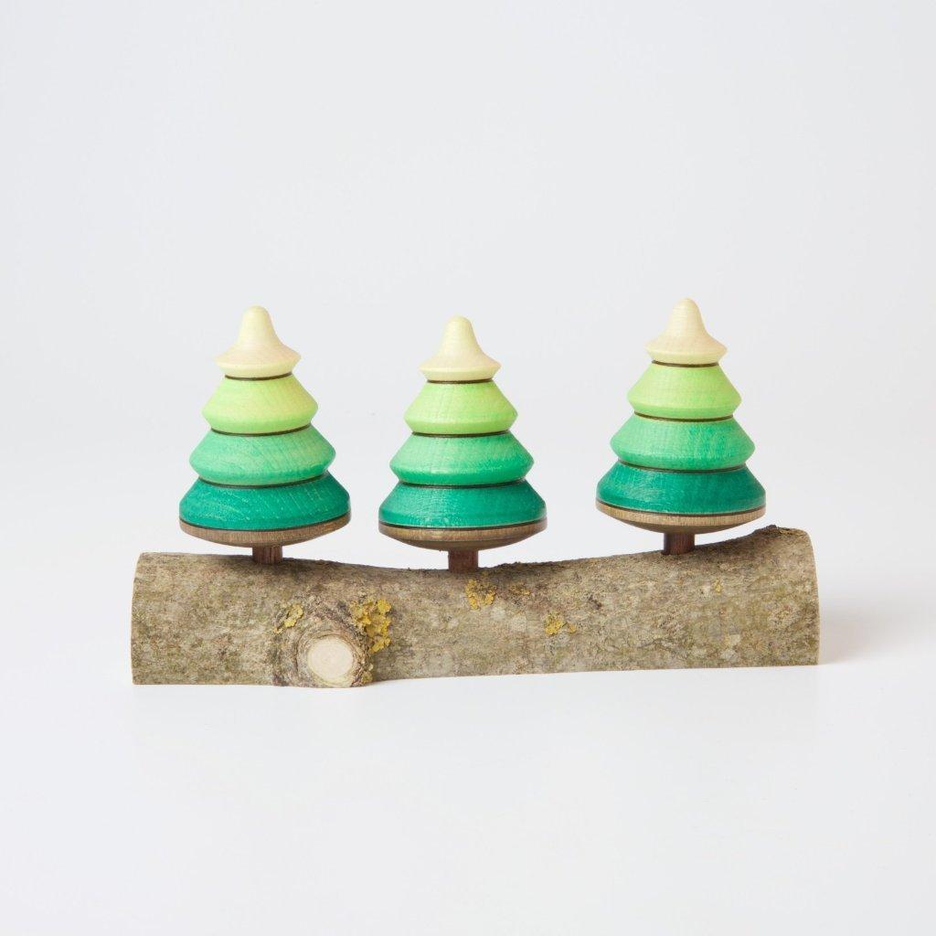 Imagen de Apilable arboles / Trio de peonzas
